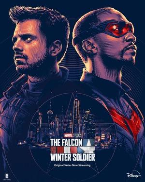 Falcon y el Soldado de Invierno Poster 9