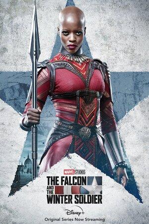 Falcon y el Soldado de Invierno Cartel de Ayo de las Dora Milaje