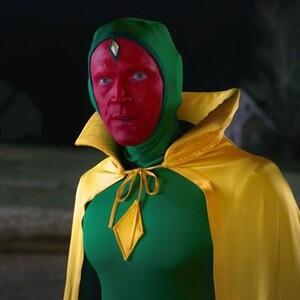 Adulto Disfraz de Wandavision Vision en Halloween