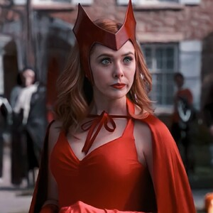 Adulto Disfraz de Wandavision Wanda en Halloween