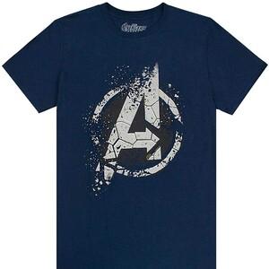 Camiseta Manga Corta Logo Vengadores Avengers