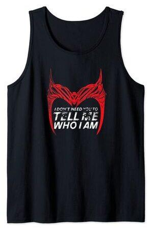 Camiseta sin Mangas Marvel Wandavision Bruja Escarlata Frase