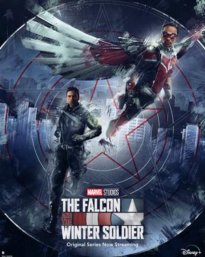 Falcon y el Soldado de Invierno Poster 11