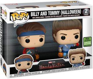 Funko Pop Wandavision Billy y Tommy Halloween