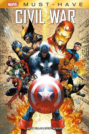 Libro Marvel Must Have Civil War