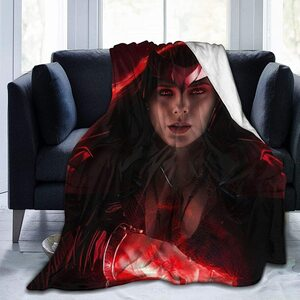 Manta para el sofa de Wandavision Wanda es la Bruja Escarlata