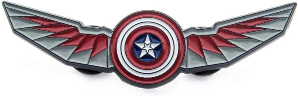 Pin Oficial Marvel Falcon y El Soldado de Invierno Simbolo Escudo Capitan America con Alas de Falcon