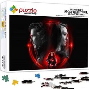 Puzzle de Marvel Wanda Maximoff Bruja Escarlata y Doctor Strange