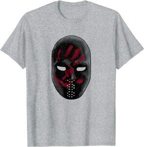 xCamiseta Manga Corta Falcon y el Soldado de Invierno Los Sin Banderas Mascara