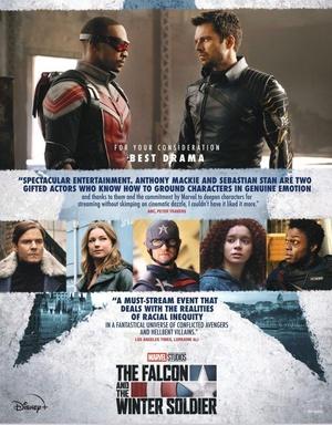 Falcon y el Soldado de Invierno Poster Candidatura Premios