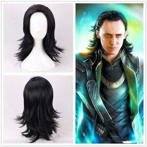 Adulto Disfraz de Loki Peluca especial