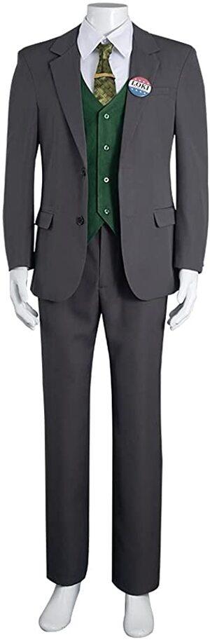 Adulto Disfraz de Loki Variante Presidente
