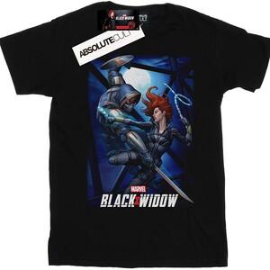 Camiseta Black Widow Batalla en el Puente