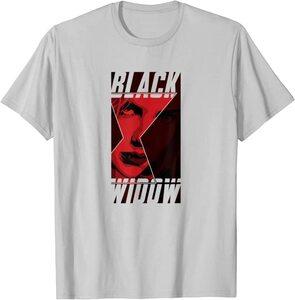 Camiseta Black Widow Logotipo Viuda Negra Cara