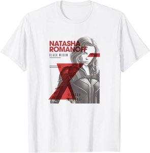 Camiseta Black Widow Natasha Romanoff Foto