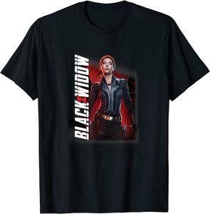 Camiseta Black Widow Personaje Viuda Negra