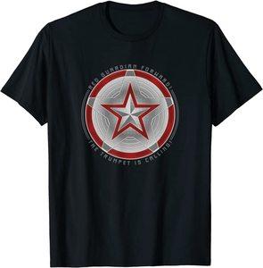Camiseta Black Widow Red Guardian Escudo Delantero