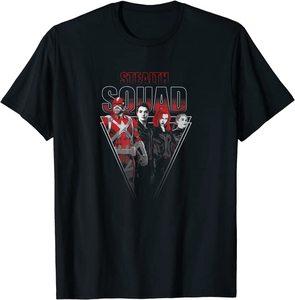 Camiseta Black Widow Stealth Squad