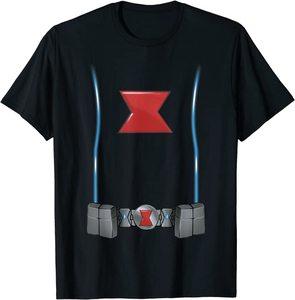 Camiseta Black Widow Traje Disfraz
