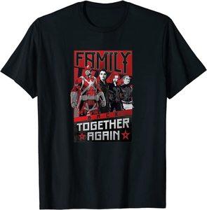 Camiseta Black Widow la Familia Junta de Nuevo