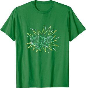 Camiseta Hulk Puño Luces de Neon