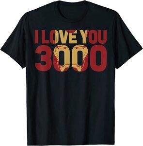 Camiseta Ironman I Love U 3000