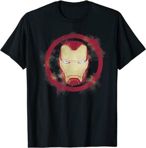Camiseta Ironman Logo Pintado Spray