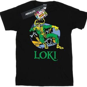 Camiseta Loki Marvel Comics Loki en el Trono