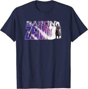 Camiseta Manga Corta Falcon y el Soldado de Invierno Baron Zemo Disco