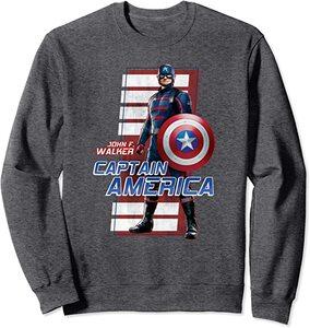Camiseta Manga Corta Falcon y el Soldado de Invierno John Walker Capitan America