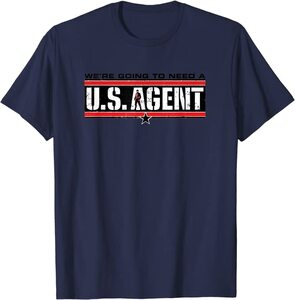 Camiseta Manga Corta Falcon y el Soldado de Invierno U.S. Agent