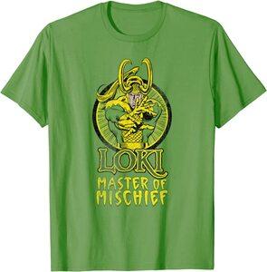 Camiseta Manga corta Marvel Loki Comic Master of Mischief