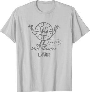 Camiseta Manga corta Marvel Loki Galleta Miss Minutes Hey Y'all Contorno