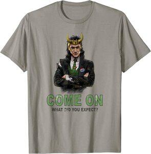 Camiseta Manga corta Marvel Loki Presidente - Vamos, Que esperabas
