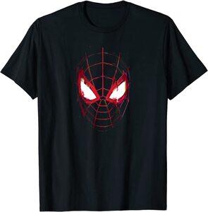Camiseta Spider-Man Miles Morales Máscara