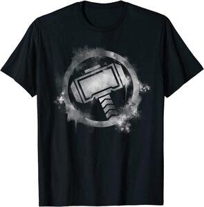 Camiseta Thor Logo Pintado Spray