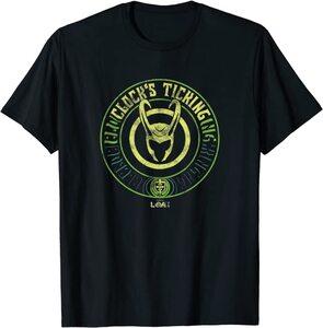 Camiseta manga corta Marvel Loki Logo TicTac del Reloj
