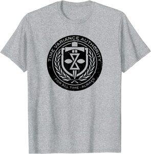 Camiseta manga corta Marvel Loki Logotipo Agencia Variación del Tiempo