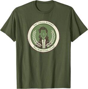 Camiseta manga corta Marvel Loki TVA Insignia de Loki