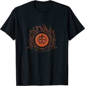 Camiseta manga corta Marvel Loki TVA Logo