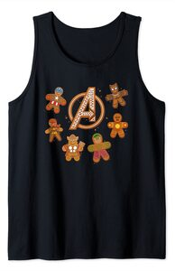 Camiseta sin mangas Avengers Vengadores Galletas de Gengibre de Navidad