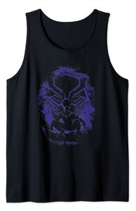 Camiseta sin mangas Black Panther Rey T'Challa