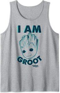 Camiseta sin mangas Guardianes de la Galaxia Vol. 2 Yo soy Groot