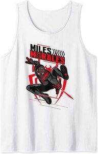 Camiseta sin mangas Spider-Man Miles Morales Lanza Telaraña