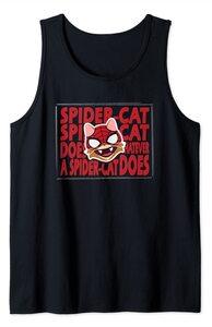 Camiseta sin mangas Spider-Man Miles Morales Spider-Cat Heroe Felino
