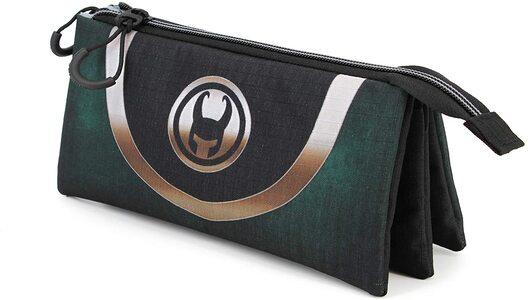 Estuche Marvel Loki 3 espacios