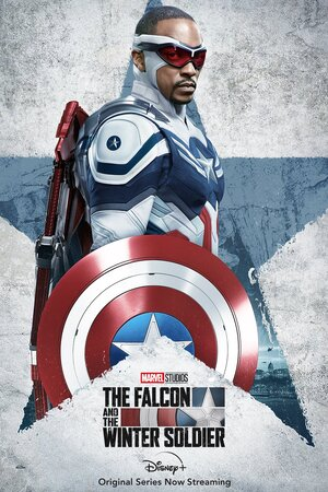 Falcon y el Soldado de Invierno Cartel Sam Wilson Capitán América