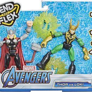 Figura Ben and Flex Thor y Loki