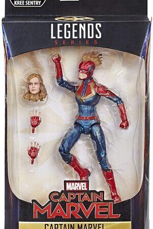 Figura Marvel Legends Capitana Marvel