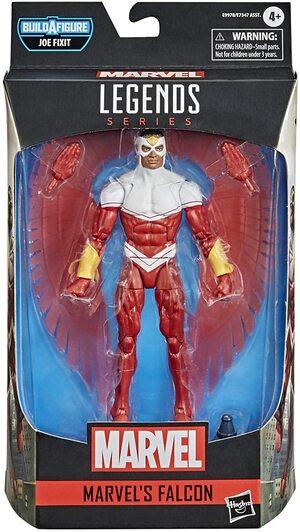 Figura Marvel Legends Falcon Traje Clasico